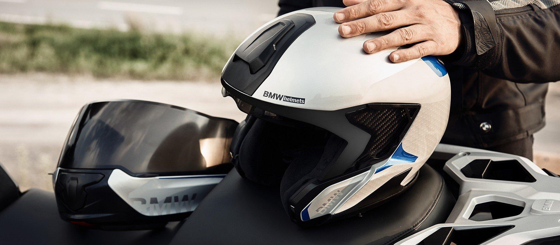 легкий шлем bmw system