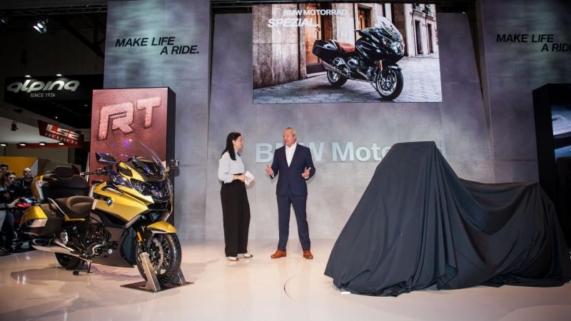 BMW Motorrad на выставке EICMA 2017, а также четыре мировые премьеры к началу сезона